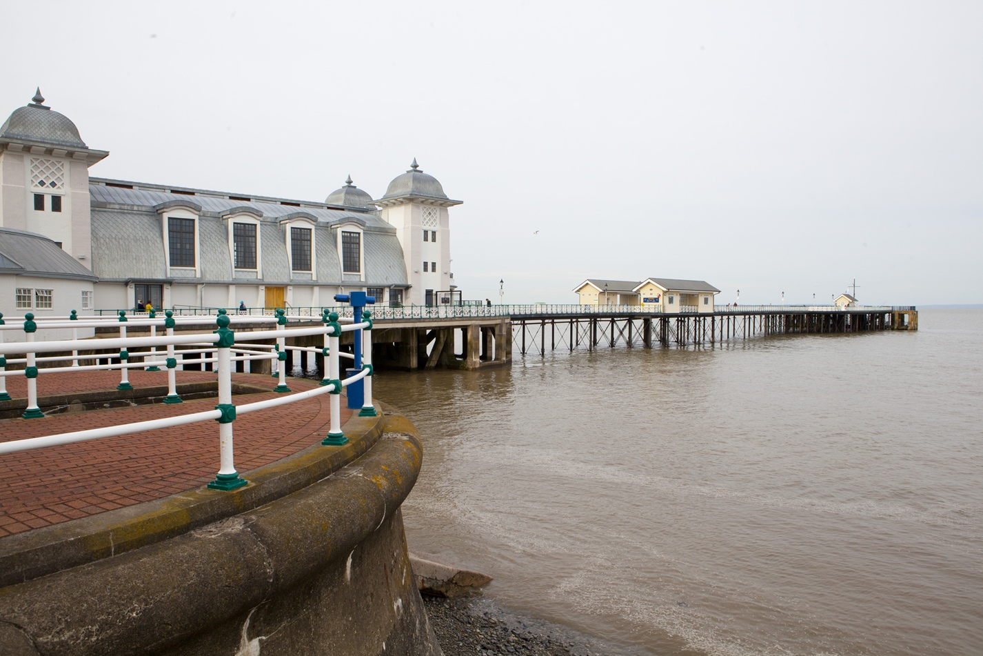 In Penarth, with views