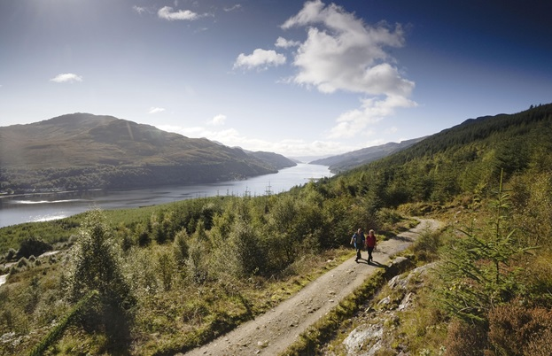 The Loch Lomond and Trossachs National Park