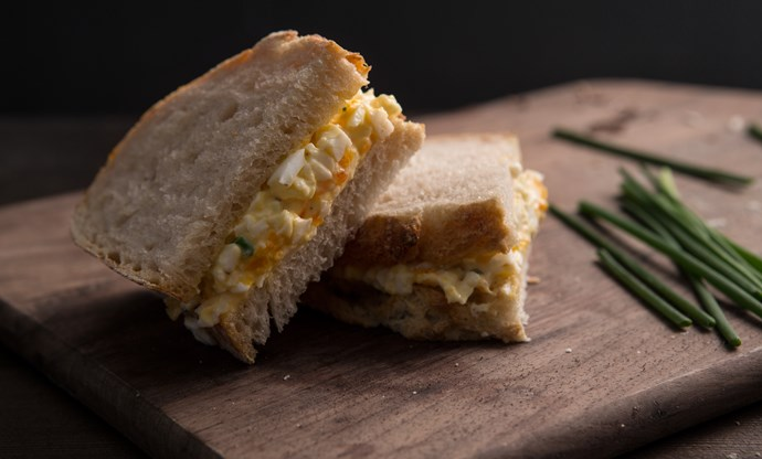 The perfect egg mayo sandwich