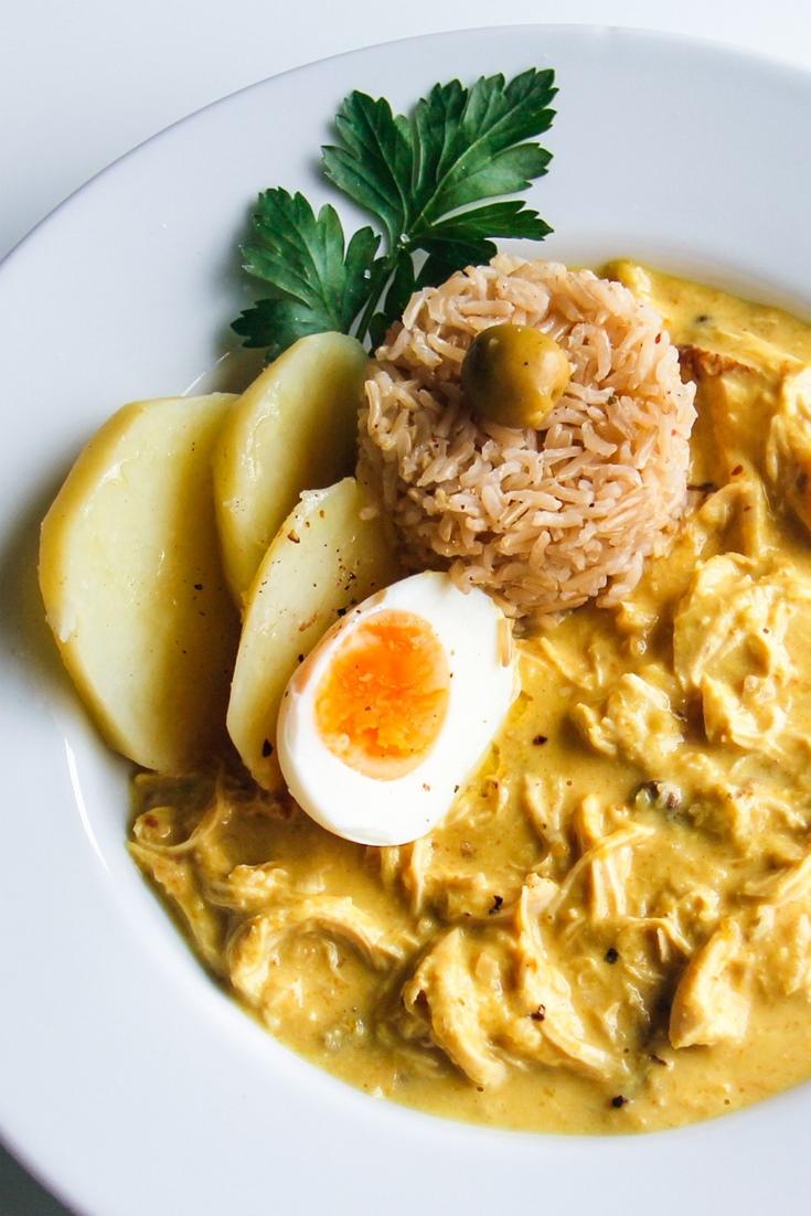 Aji De Gallina Recipe Great British Chefs