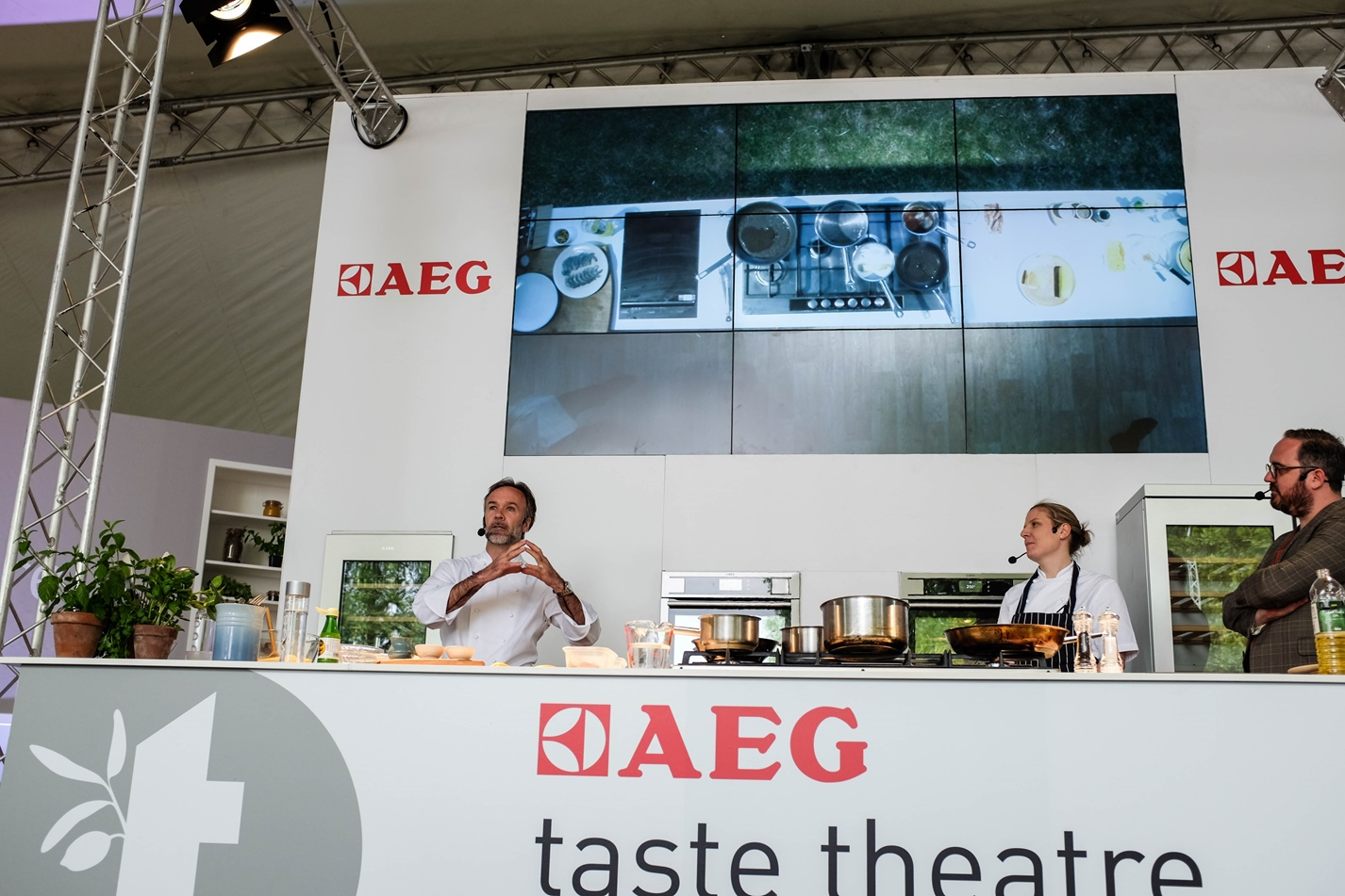 Marcus Wareing at Taste of London Theatre