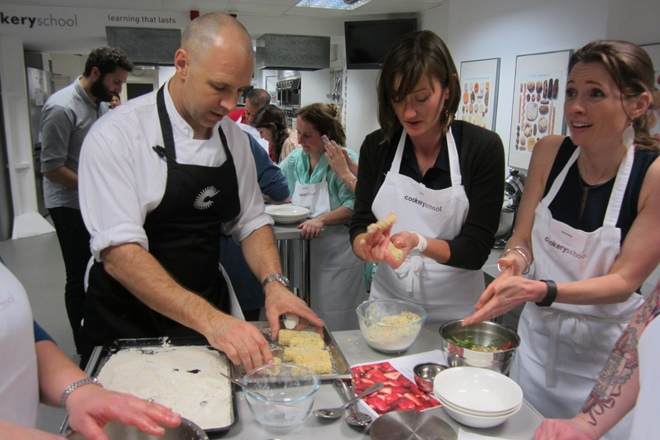 Adam Gray at Great British Chefs Cook School