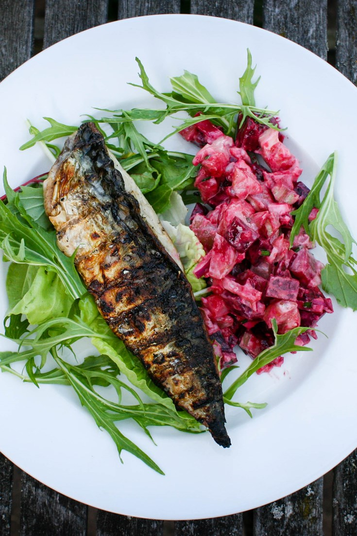 Grilled Mackerel Recipe Great British Chefs