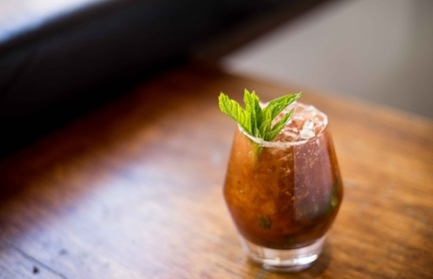 Original Beans 70% Virunga chocolate, pomegranate, coriander and ginger spritz