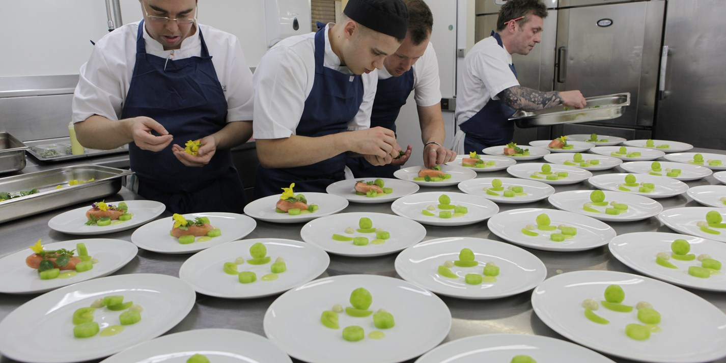 Michelin star chefs trained at Belmond Le Manoir
