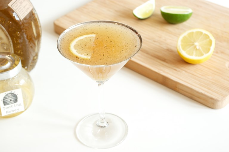 Golden barbecued margaritas
