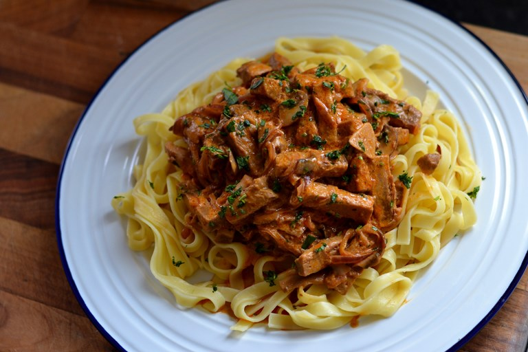 Quorn and Mushroom Stroganoff Recipe