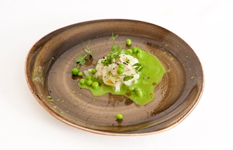 Cuttlefish and peas