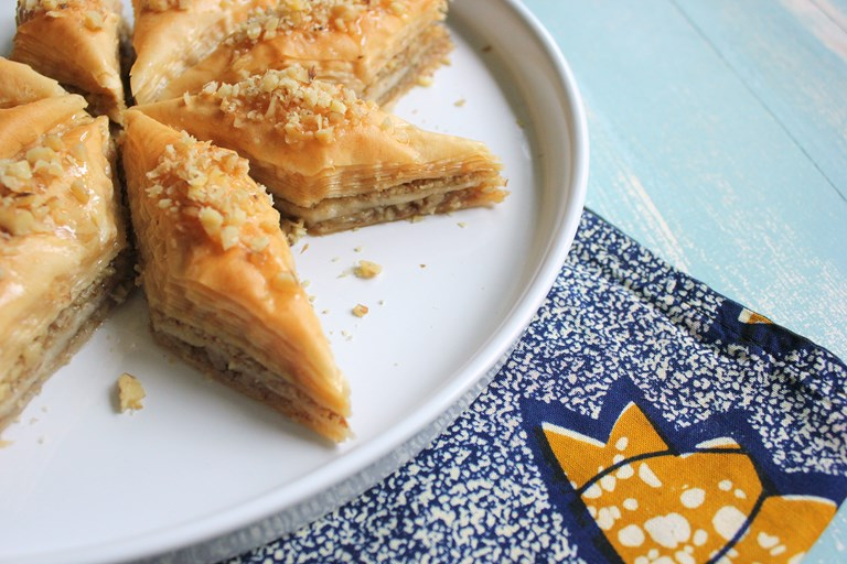 Greek Baklava Recipe Great British Chefs