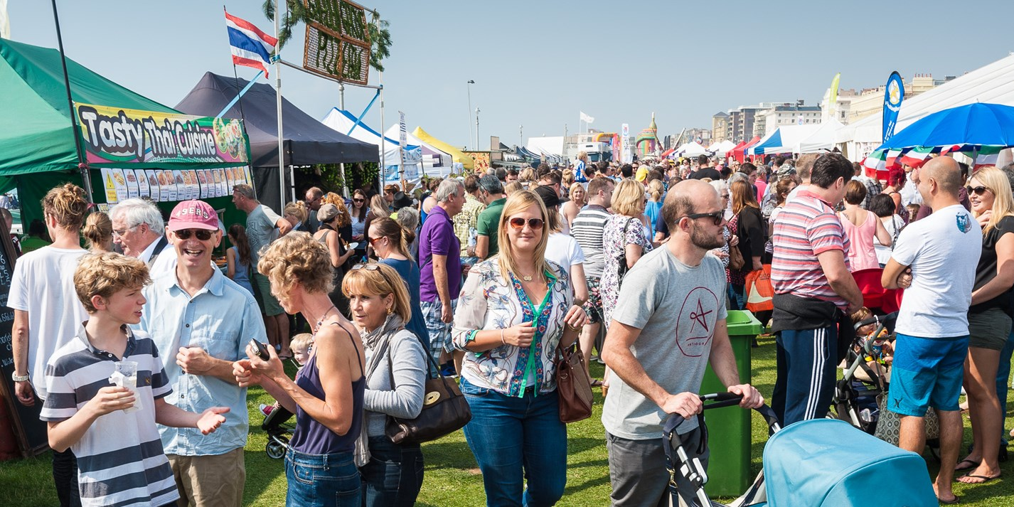 Behind the scenes at Brighton Food Festival