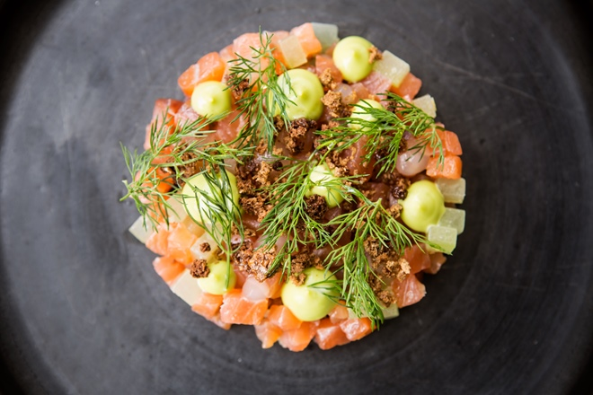 Gin recipes great british chefs gin and tonic cured salmon forumfinder Images