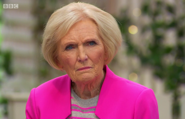 Mary Berry unimpressed