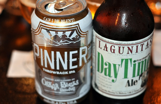 Daytime by Lagunitas and Pinner by Oskar Blues Brewery