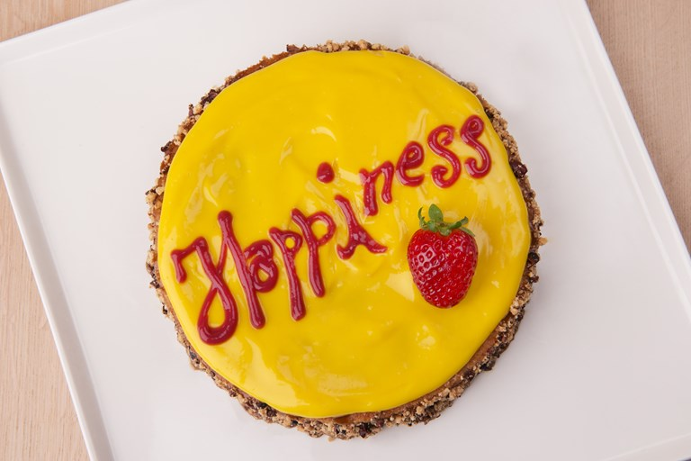 Happiness vegan cardamon sponge