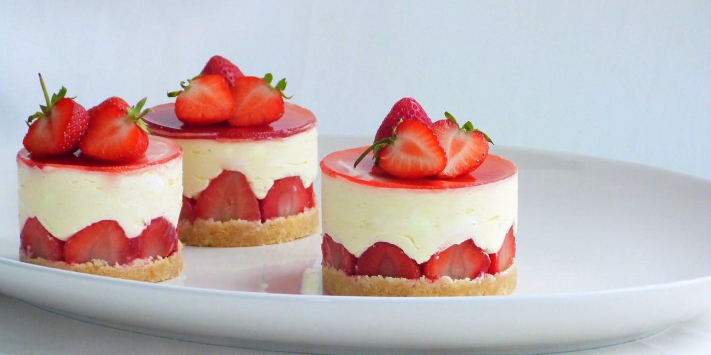 Strawberry And Elderflower Fraisiers Recipe Great