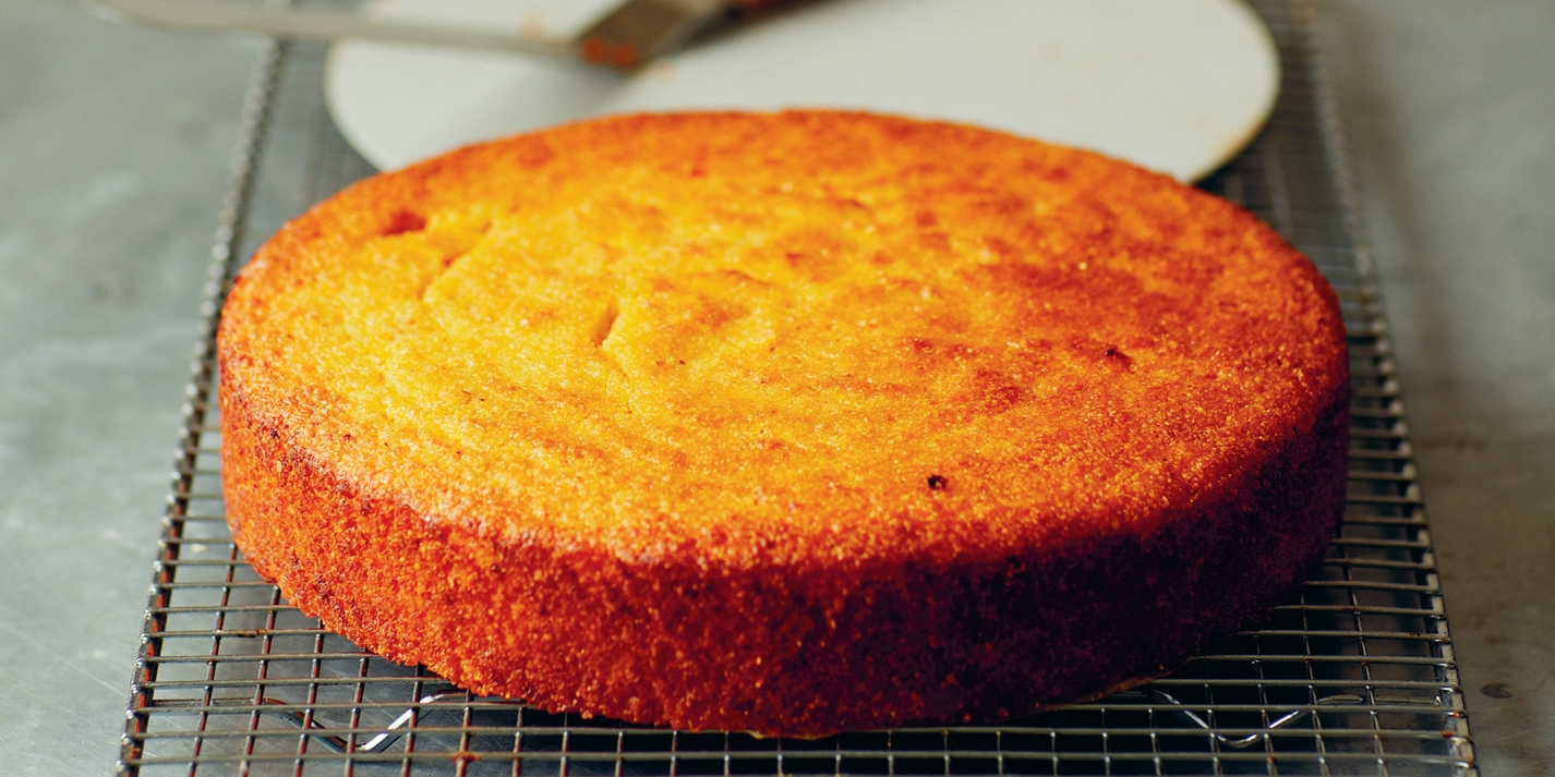 Sticky Orange Polenta Cake Recipe - Great British Chefs