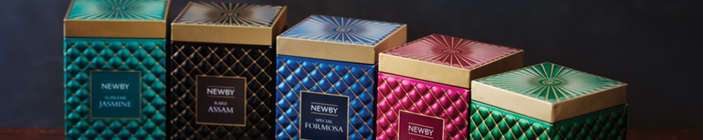Win the Gourmet Collection from Newby Teas worth £150