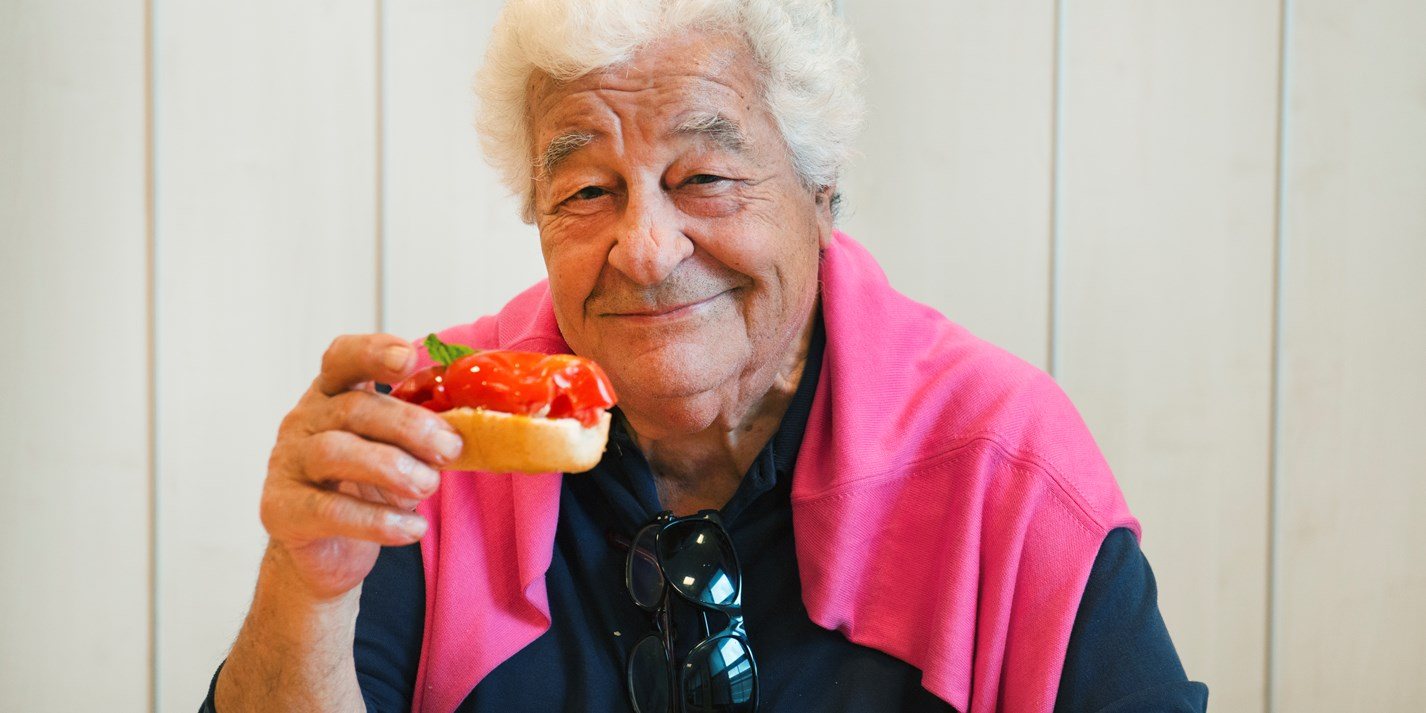 Antonio Carluccio: the man who brought Italian food to the UK