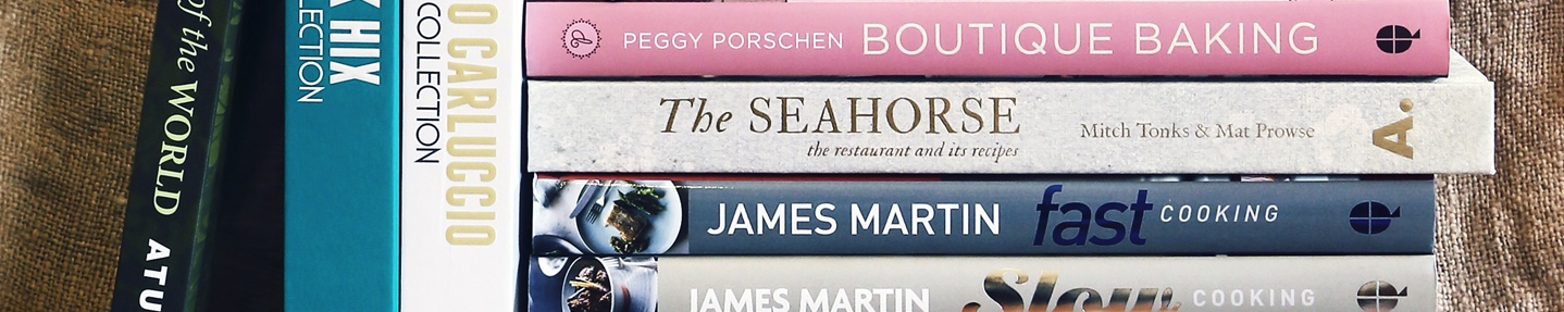 Win £300 worth of cookbooks and a subscription to Cooked
