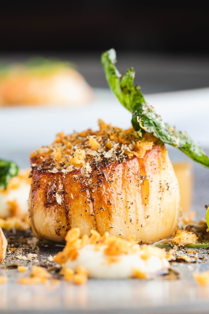 How To Pan Fry Scallops Great British Chefs