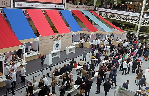 National Chef of the Year competition at Kensington Olympia