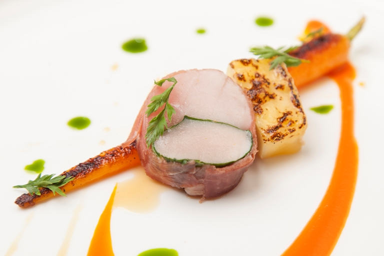Sous Vide Saddle Of Rabbit Recipe Great British Chefs