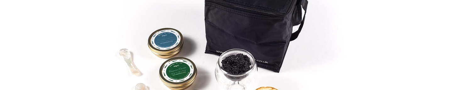 Indulge in luxury: win a Caspian Caviar Trilogy set worth £232