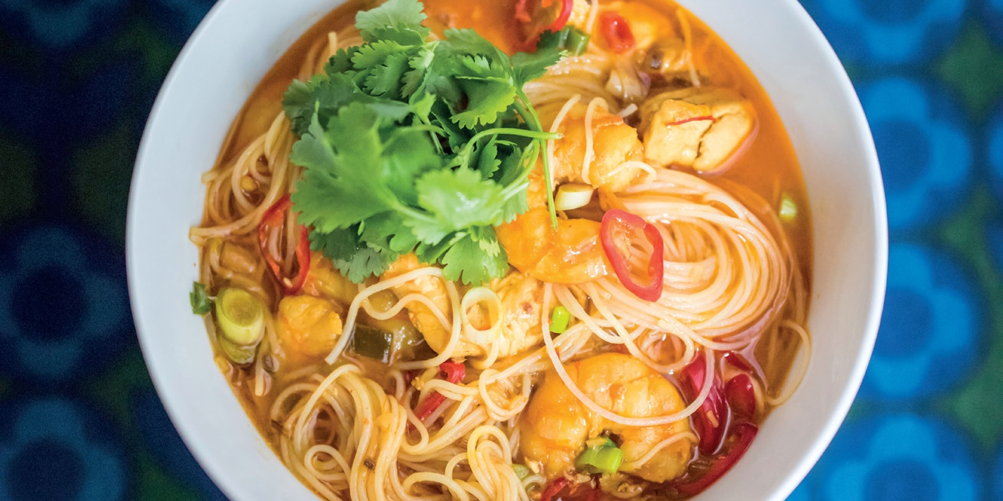 Spicy Noodle Laksa Recipe Great British Chefs