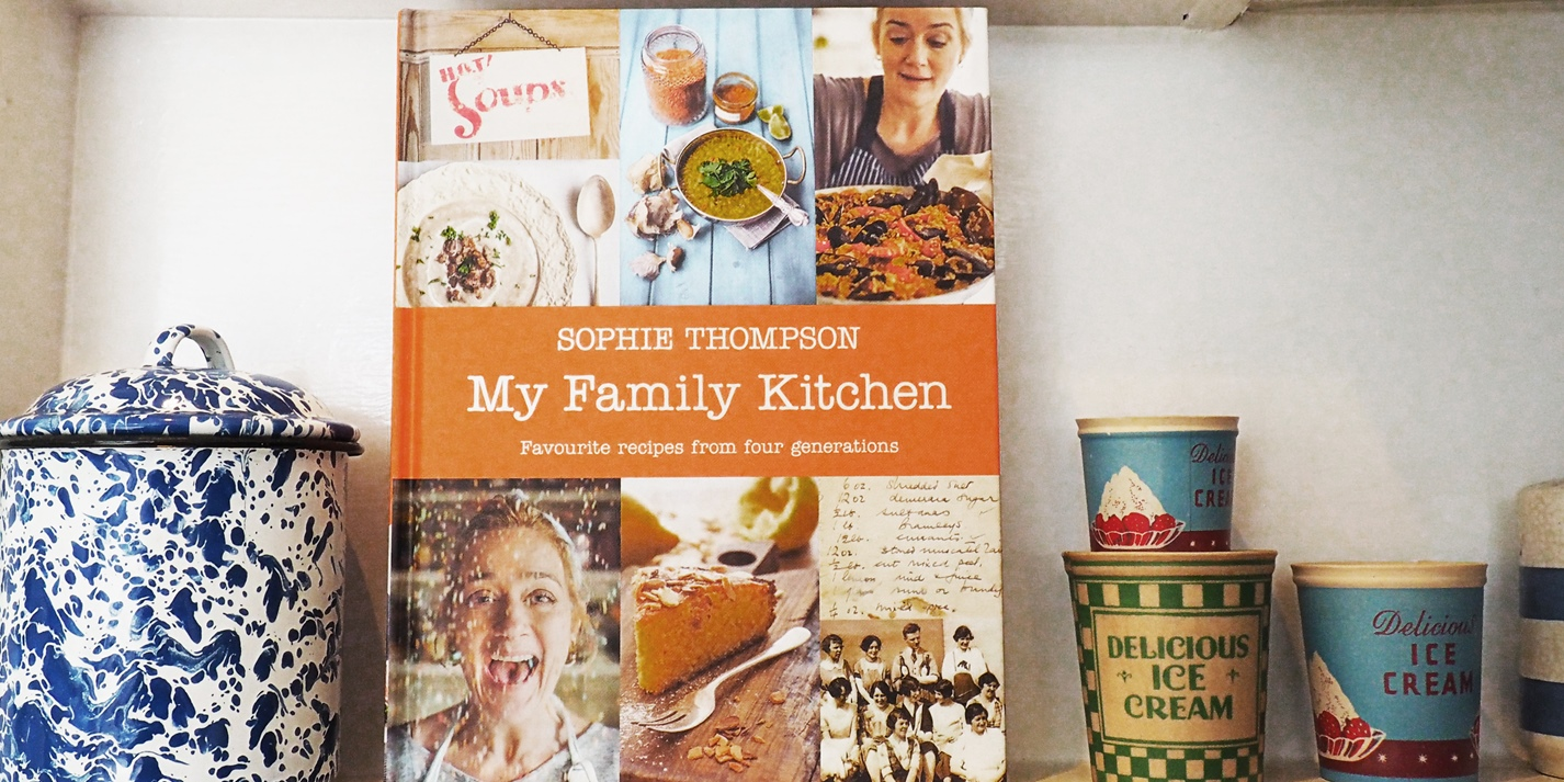 Book review: My Family Kitchen by Sophie Thompson