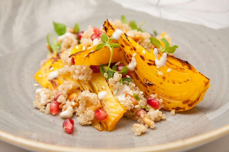 Fennel and orange quinoa salad recipe