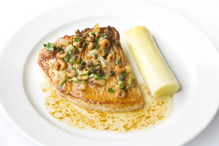 Skate Wings With Braised Leeks Recipe Great British Chefs