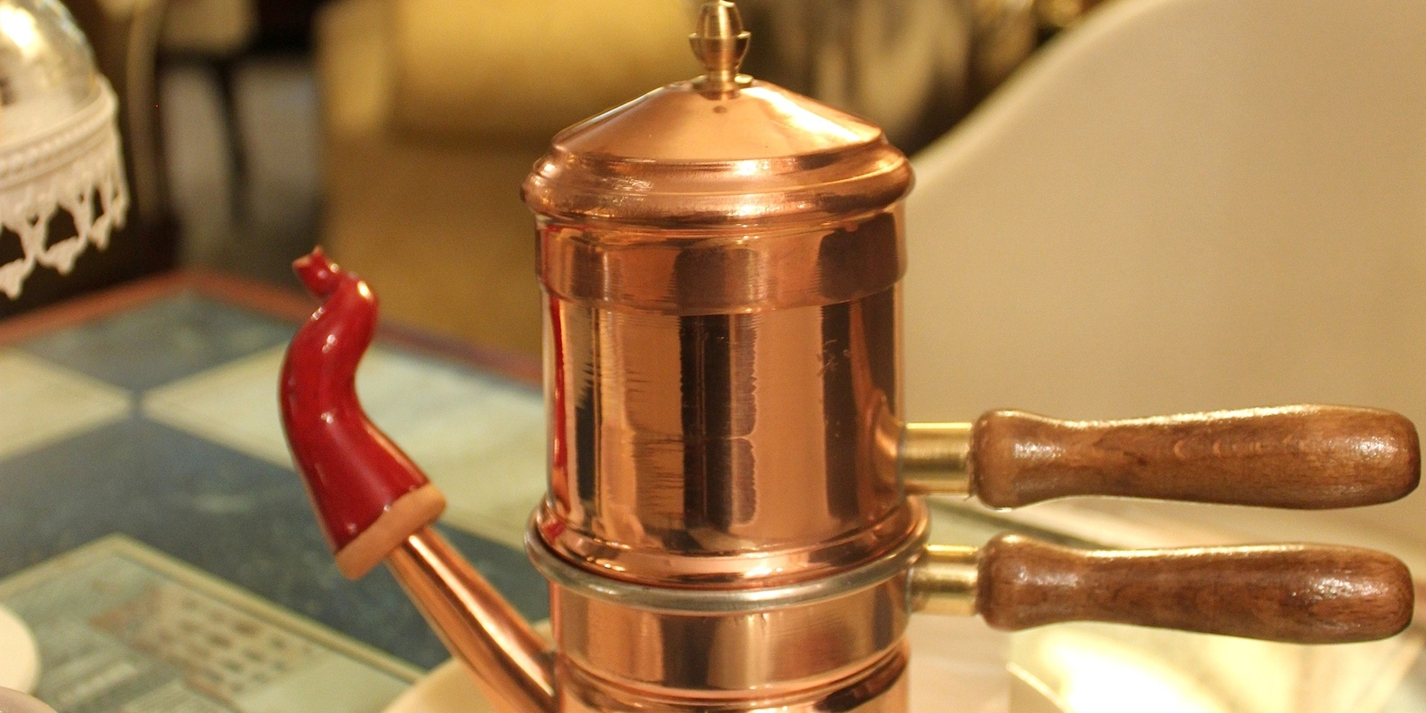 Discovering the cuccuma: Naples' traditional coffee pot