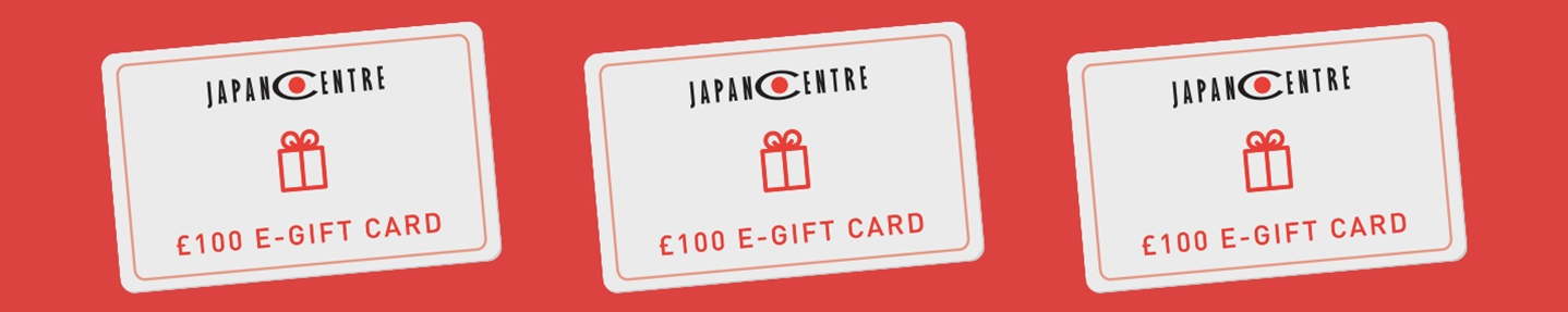 Win a £100 e-gift card to spend at japancentre.com
