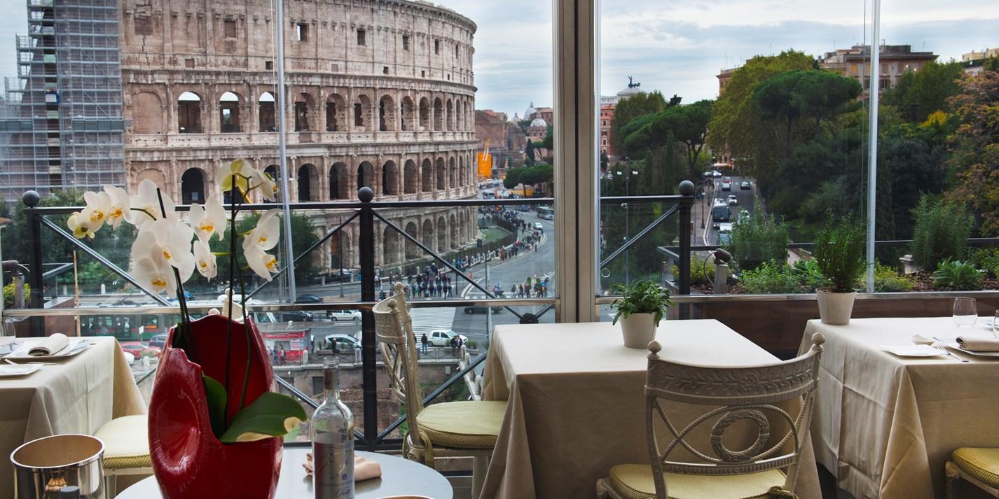 Aroma Restaurant Rome Great Italian Chefs