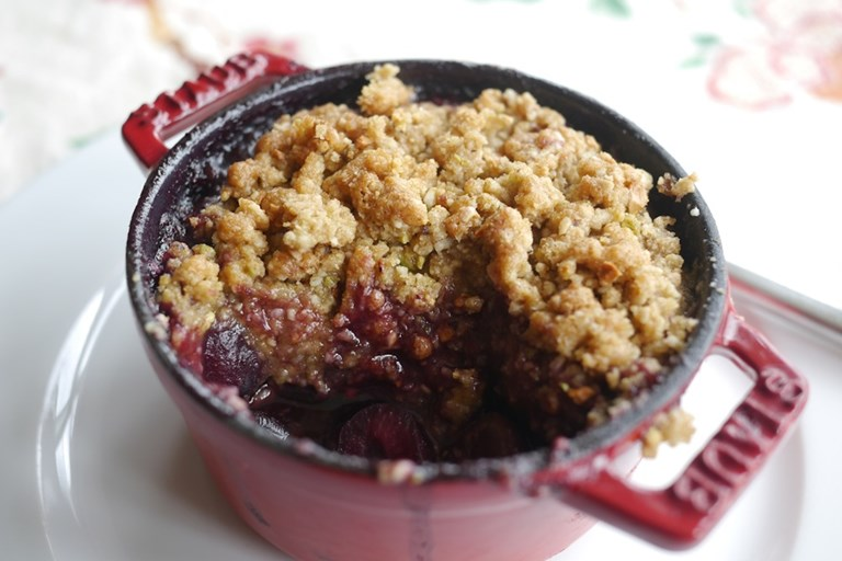 Gluten free crumble recipe