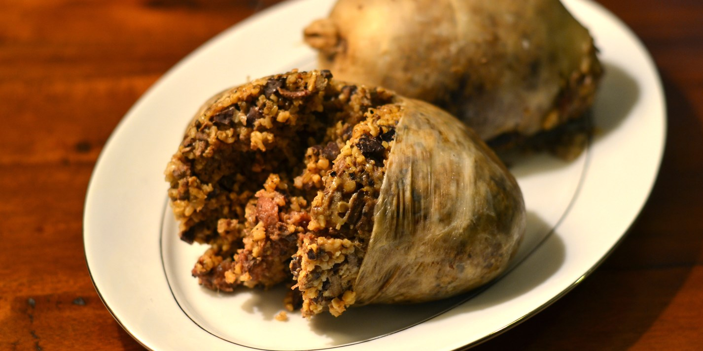 How To Make Haggis From Scratch Great British Chefs