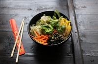Vegetarian sushi bowl recipe