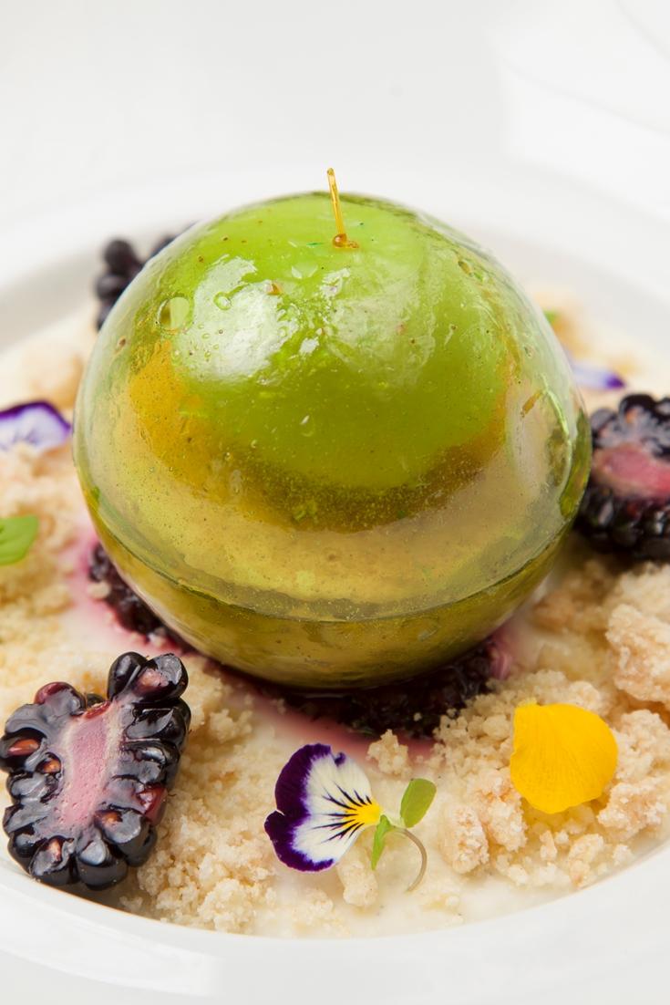 Molecular Apple Dessert Recipe Great British Chefs