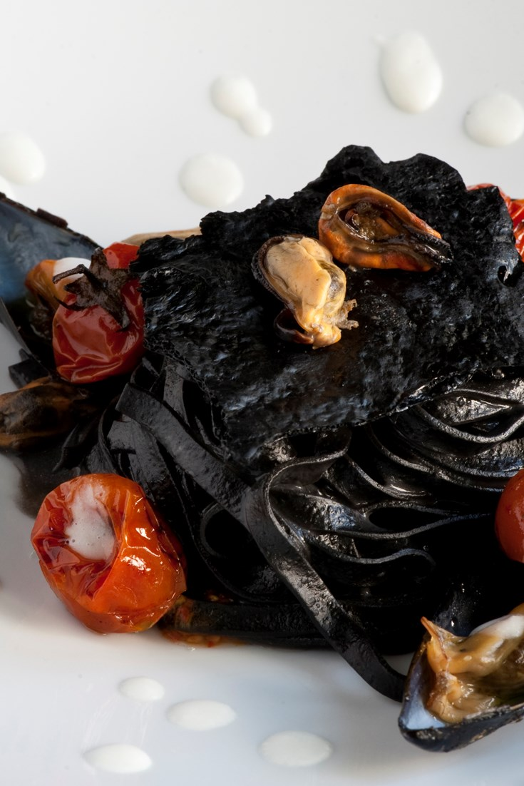 How To Make Squid Ink Pasta Great Italian Chefs