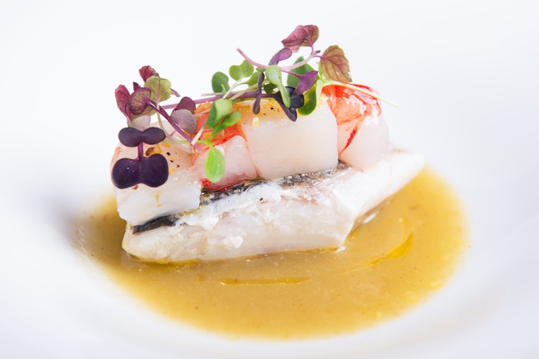 Sea Bass Recipe With Fennel And Apple Sauce Great
