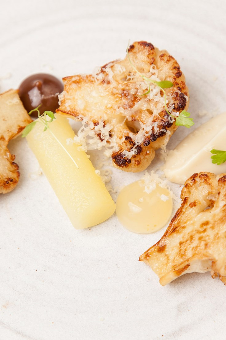 Sous Vide Cauliflower Cheese Starter Recipe Great