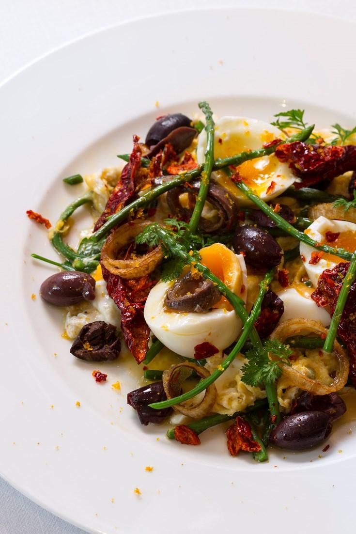 Warm Egg Salad Recipe Great British Chefs