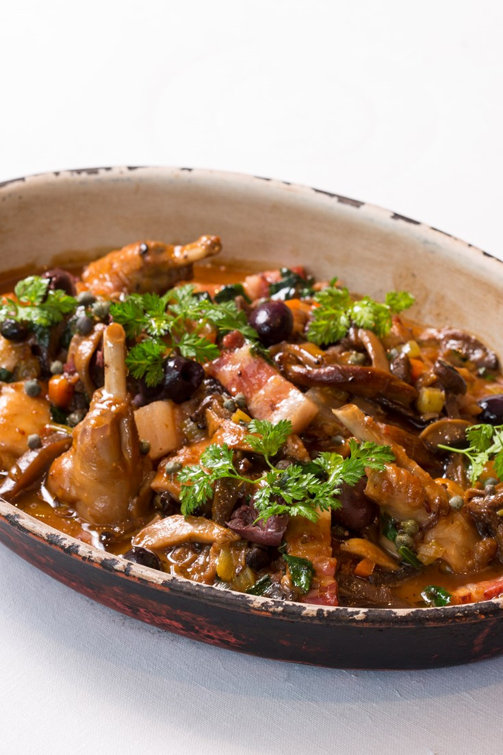 Rabbit Cacciatore Recipe Great British Chefs