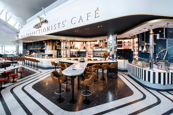 Behind the scenes at Heston's Perfectionists' Café