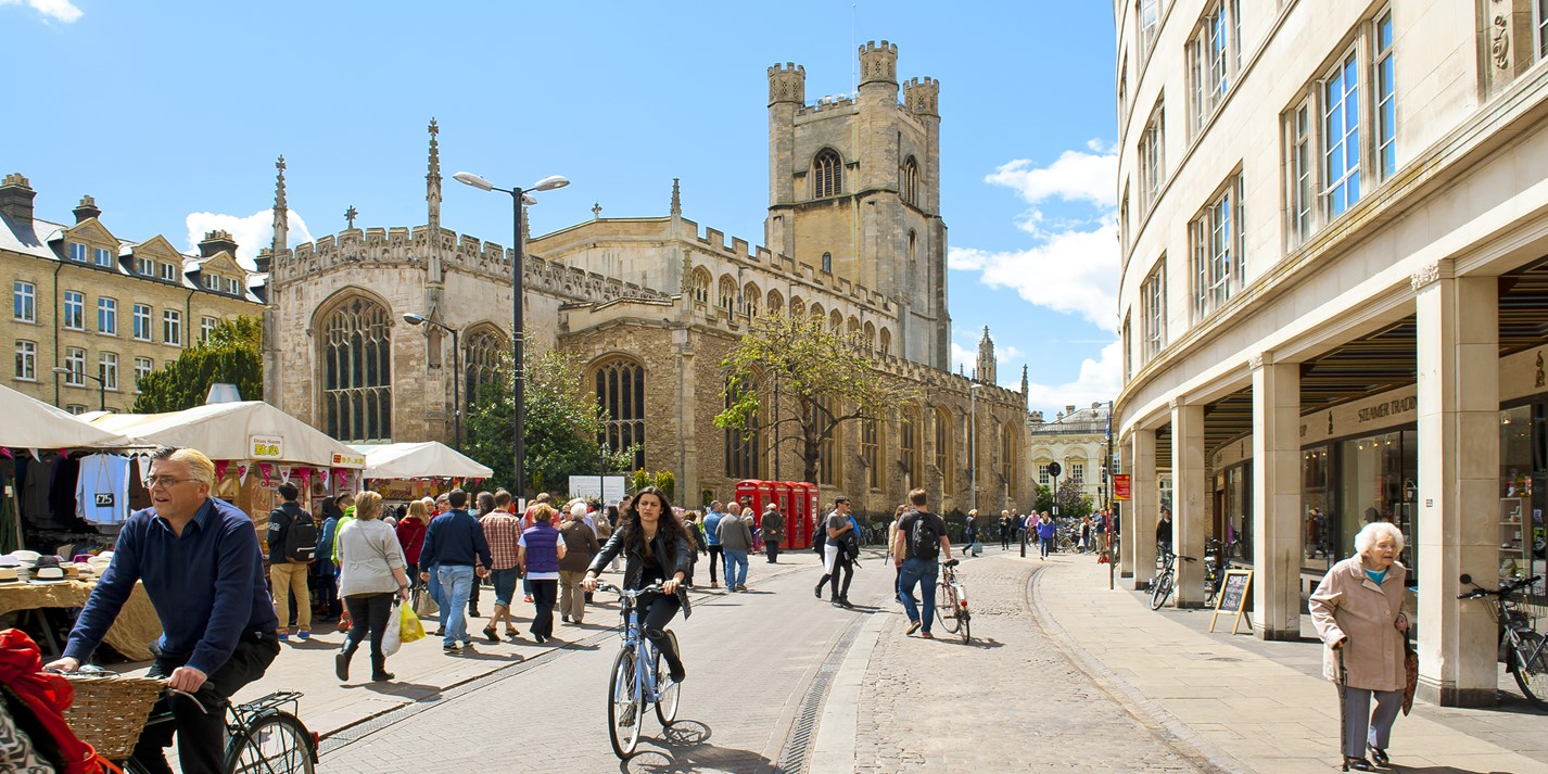 Cambridge food and drink guide