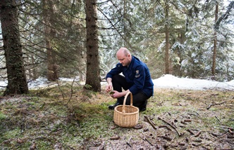 Mountain culture: foraging with Heinrich Schneider