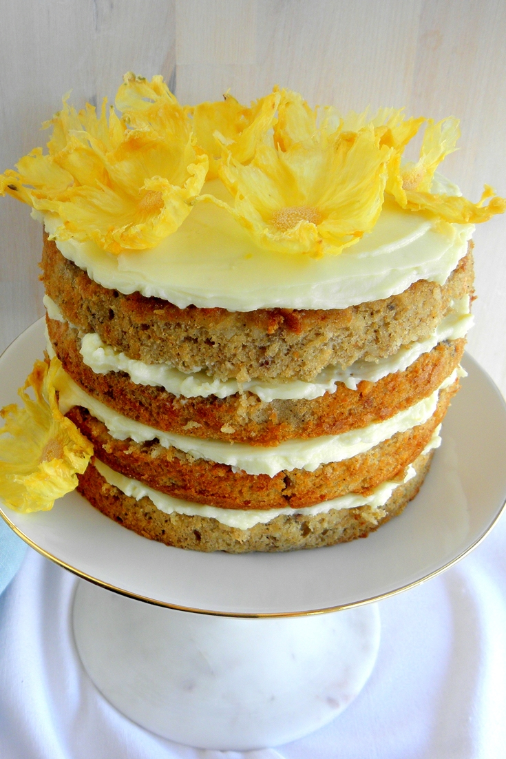 Easy Vegan Hummingbird Cake