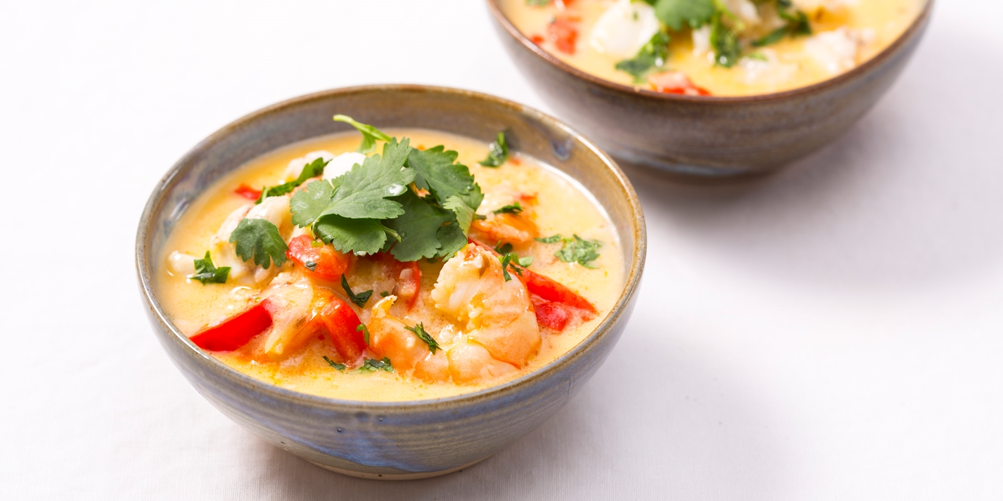 moqueca de peixe e camar o recipe   great british chefs