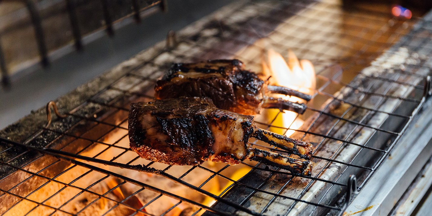 cooking lamb chops on charcoal grill How to Barbecue Lamb Chops - Great British Chefs