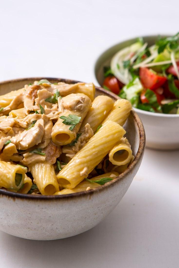 Tortiglioni With Chicken Recipe Great British Chefs